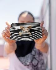 Blue Heeler Stripes FM Cloth face mask aos-face-mask-lifestyle-07