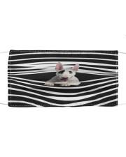 Bull Terrier Stripes FM Cloth face mask front