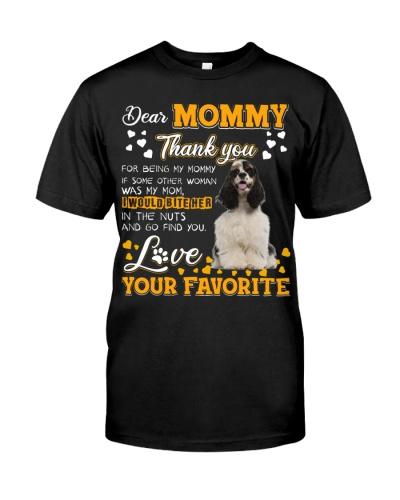 Dear Mommy-American Cocker Spaniel