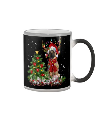 Belgian Shepherd-Reindeer-Christmas