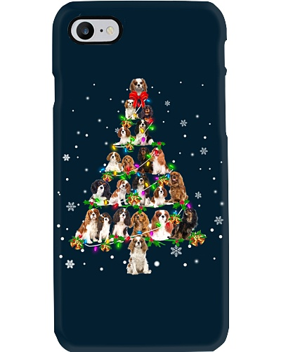 Cavalier King Charles Spaniel - Christmas Tree