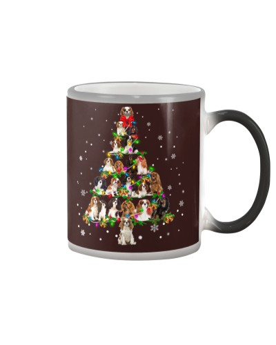 Cavalier King Charles Spaniel - Christmas Tree