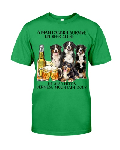 He Also Needs Bernese Mountain Dog And Beer