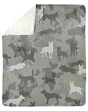 """Australian Kelpie-camouflage Sherpa Fleece Blanket - 50"""" x 60"""" thumbnail"""