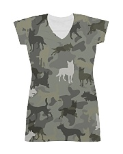 Australian Kelpie-camouflage All-over Dress thumbnail