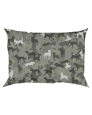 Australian Kelpie-camouflage Rectangular Pillowcase thumbnail