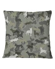 Australian Kelpie-camouflage Square Pillowcase thumbnail