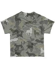 Australian Kelpie-camouflage All-over T-Shirt back