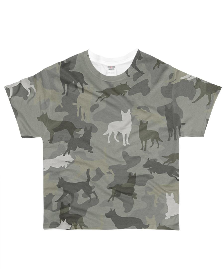 Australian Kelpie-camouflage All-over T-Shirt