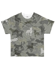 Australian Kelpie-camouflage All-over T-Shirt front