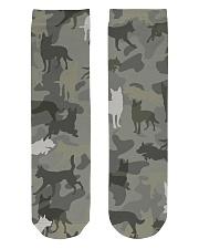 Australian Kelpie-camouflage Crew Length Socks thumbnail