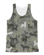Australian Kelpie-camouflage All-over Unisex Tank thumbnail