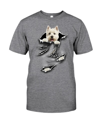 West Highland White Terrier-Scratch