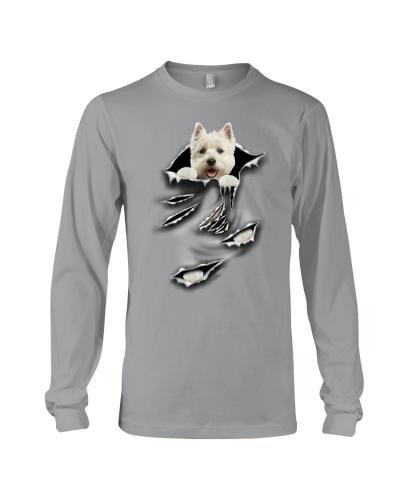 West Highland White Terrier-Scratch
