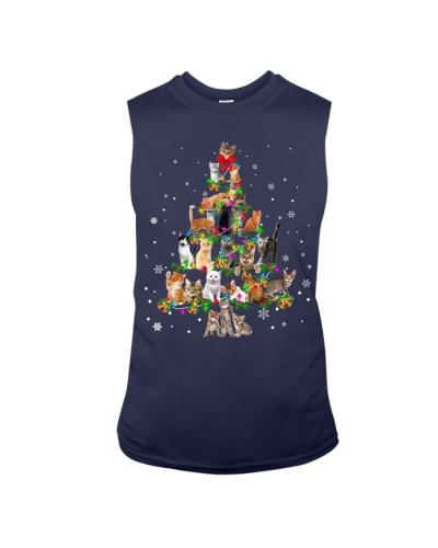 Cat - Christmas Tree