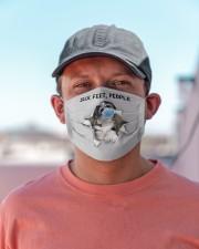 Havanese Six Feet People FM Cloth face mask aos-face-mask-lifestyle-06