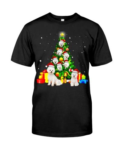 Bichon Frise-Christmas Tree-1