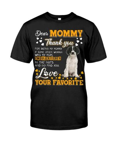 Dear Mommy-English Springer Spaniel