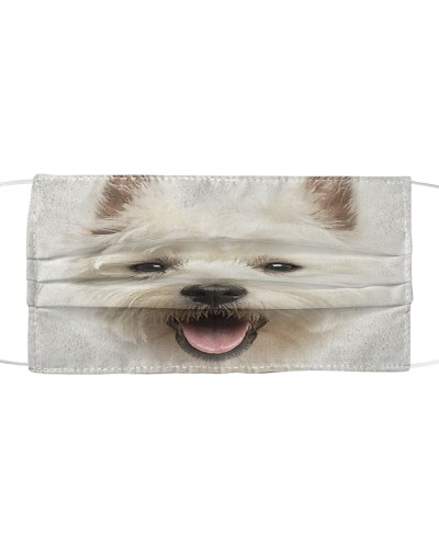West Highland White Terrier Face