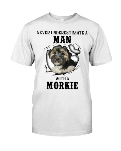Man With A Morkie