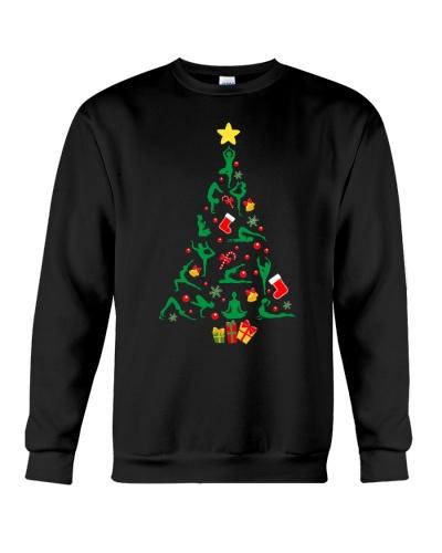 Yoga-Christmas Tree