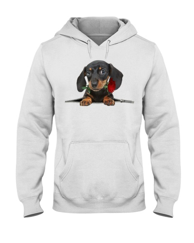 Dachshund 2 Rose Face