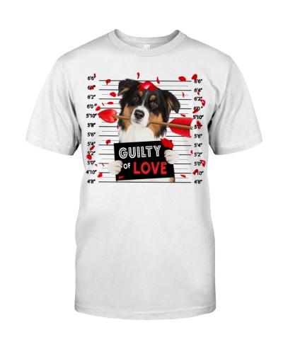Australian Shepherd Guilty of Love