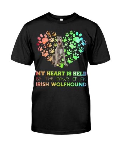 Irish Wolfhound Heart Paw