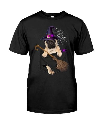 Pug - Pocket - Halloween