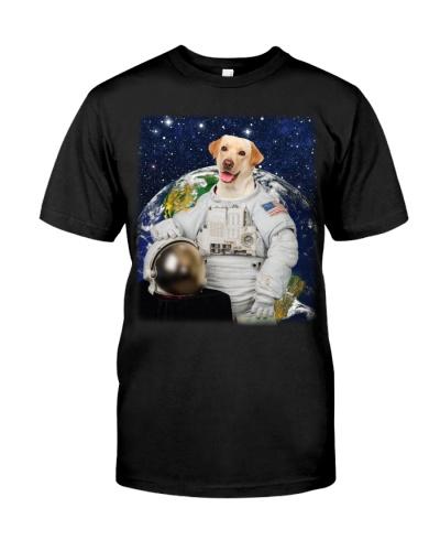 Astronaut-Labrador Retriever