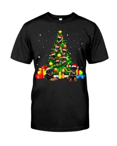 Rottweilers-Christmas Tree