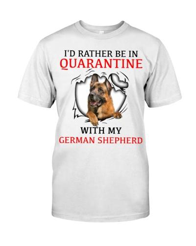Quarantine With My German Shepherd