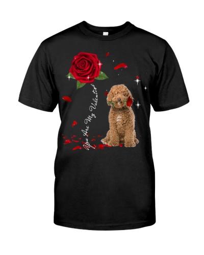 Labradoodle is My Valentine-Rose
