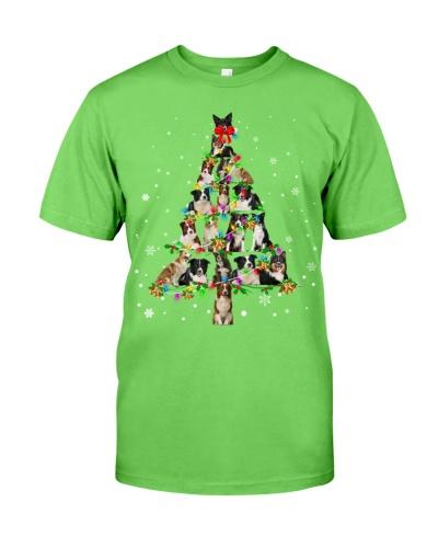 Border Collie - Christmas Tree