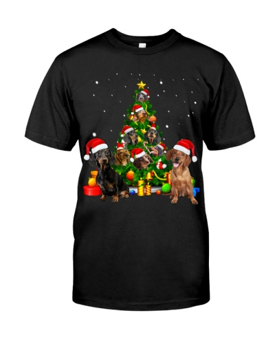 Dachshund-Christmas Tree-1