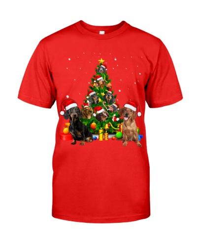 Dachshund-Christmas Tree-1