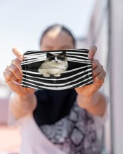 Munchkin Cat Stripes FM Cloth face mask aos-face-mask-lifestyle-07