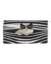 Munchkin Cat Stripes FM Cloth face mask front