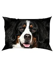 Bernese Mountain Dog -Face and Hair Rectangular Pillowcase thumbnail