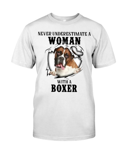 Woman With A Boxer