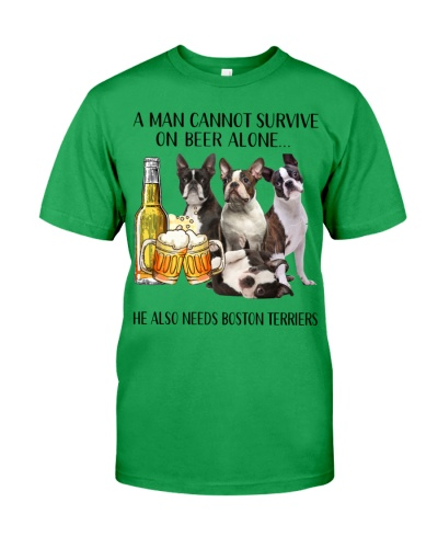 He Also Needs Boston Terrier And Beer
