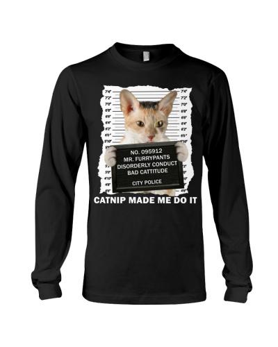 Cornish Rex Cat - Catnip