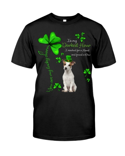 My Lucky Charm is Jack Russell Terrier