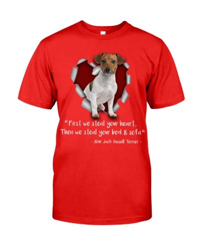 Jack russell terrier-Torn Paper Heart