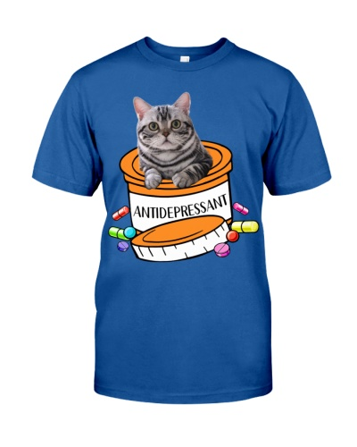 American Shorthair Cat Antidepressant