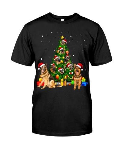German Shepherds-Christmas Tree