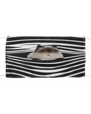Himalayan Cat Stripes FM Cloth face mask front