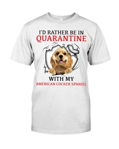 Quarantine With My American Cocker Spaniel