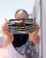 French Bulldog Stripes FM Cloth face mask aos-face-mask-lifestyle-07
