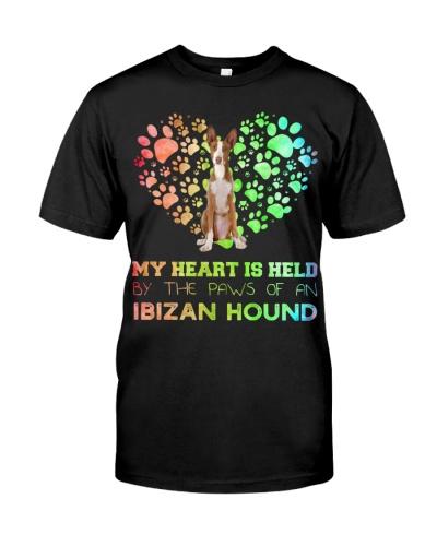 Ibizan Hound Heart Paw